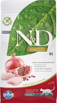N&D Prime Cat Chicken & Pomegranate Adult
